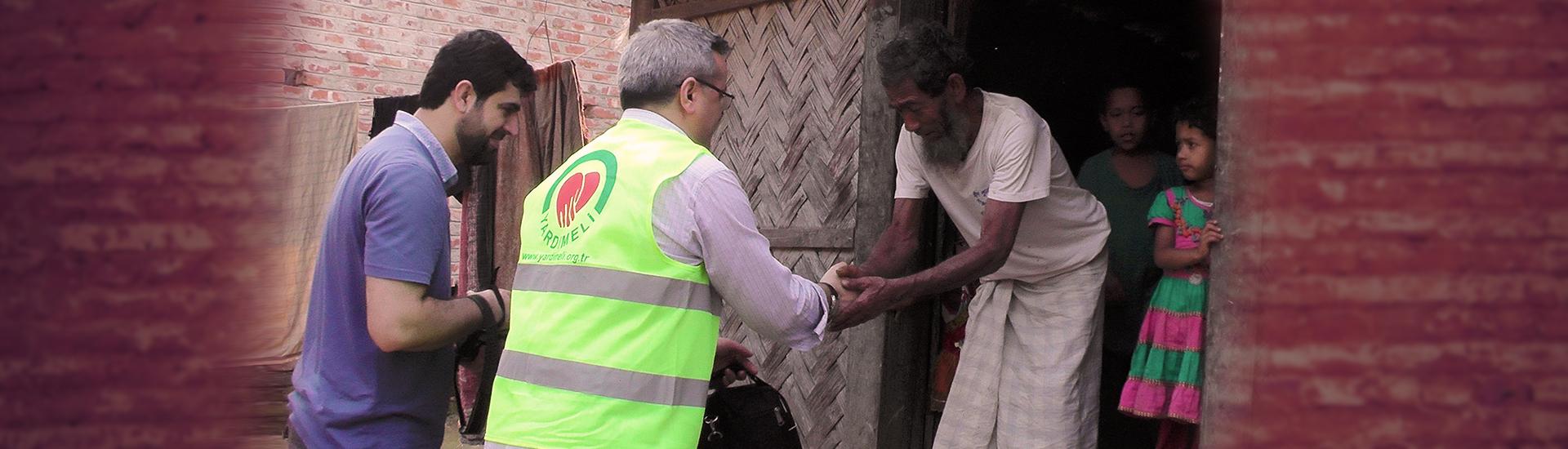 バングラデシへ慈善橋